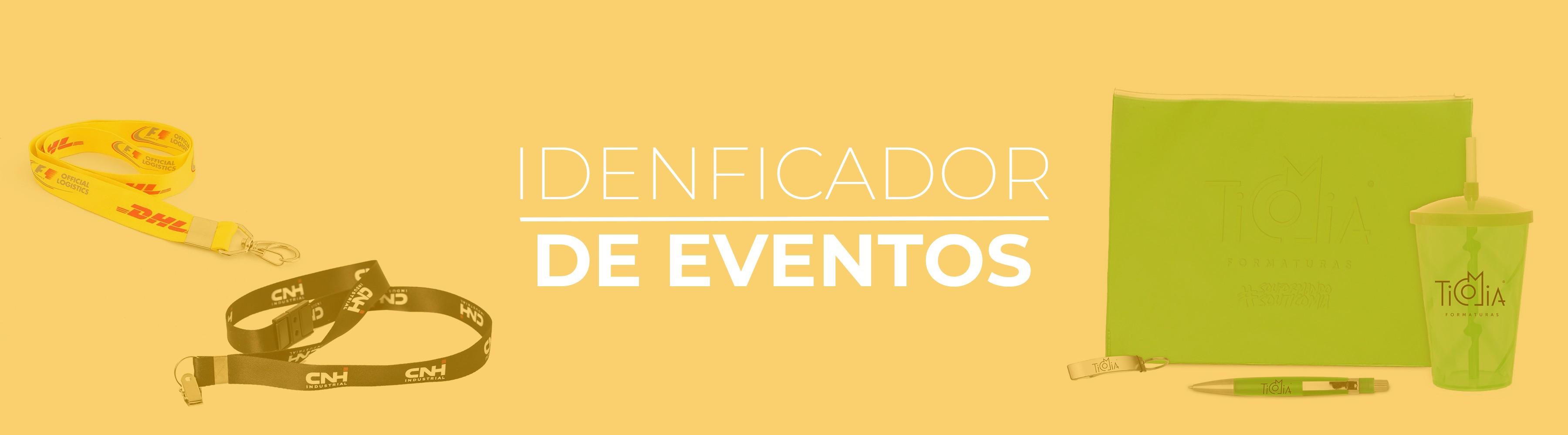 Banner Identificação de Eventos