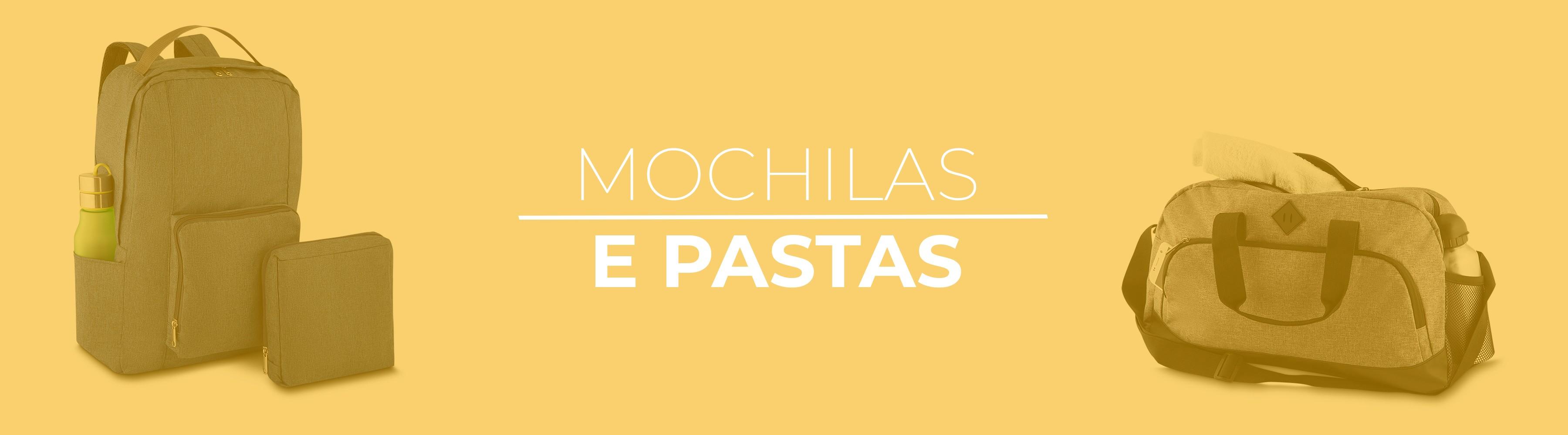 Banner Mochilas e Pastas