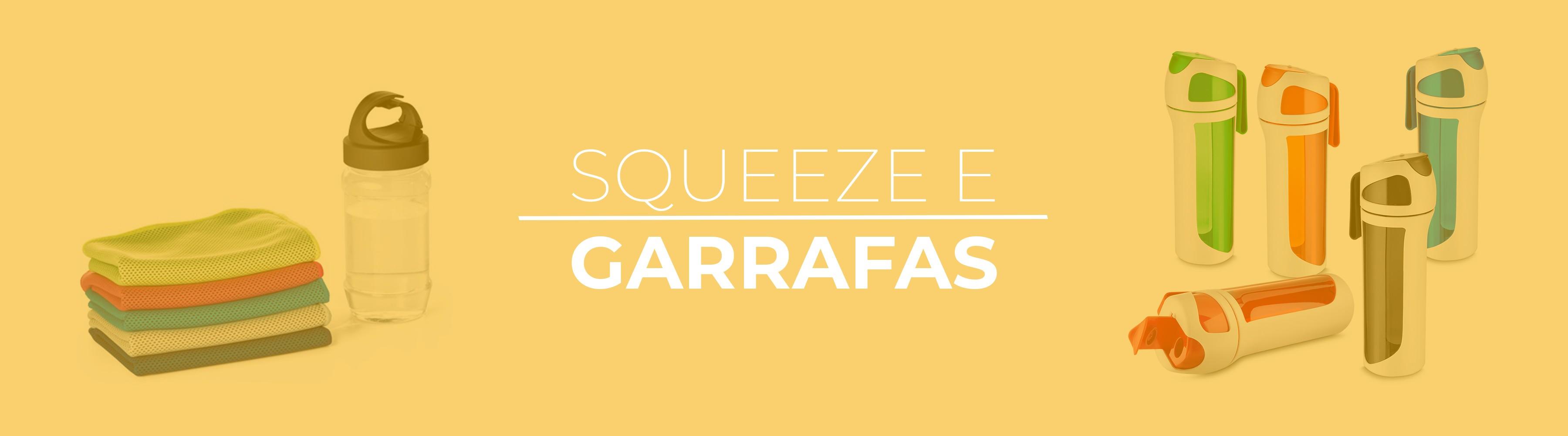 Banner Squeezes e Garrafas