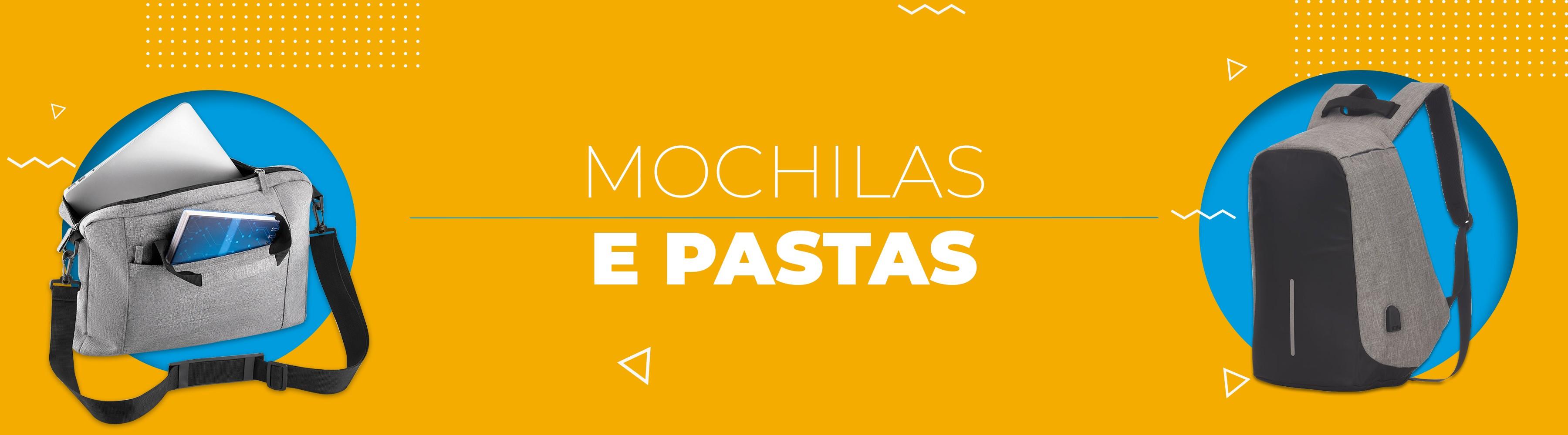 Mochilas e Pastas