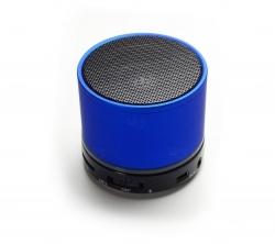 Caixinha De Som C/ Bluetooth Personalizada Azul