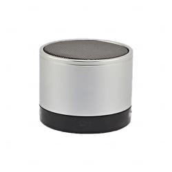 Caixinha De Som C/ Bluetooth Personalizada Cinza Claro