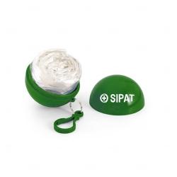 Chaveiro Porta Capa De Chuva Personalizado Verde