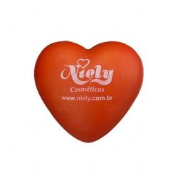 Coração Anti-stress Personalizada Laranja
