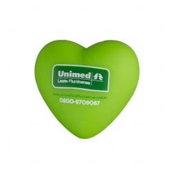 Coração Anti-stress Personalizada Verde
