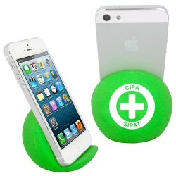 Apoio Para Smartphone Anti Stress Personalizado Verde