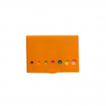 Kit Post-It  Com Caneta Personalizado - 9,30 x 6,90 cm Laranja