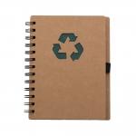 Bloco De Anotações Ecológico Personalizado - 18 x 11,5 cm Verde
