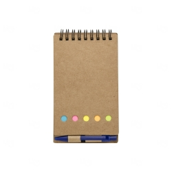 Bloco De Anotações Eco e Post It Personalizado - 15,8 x 8,8 cm