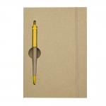 Bloco De Anotações Com Caneta Personalizada - 19,7 x 13,5 cm Kraft