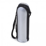 Garrafa Térmica de Inox com Capa Personalizada - 500 ml Prata