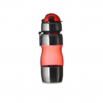 Squeeze Plástico C/ Metal Personalizado - 450 ml Vermelho