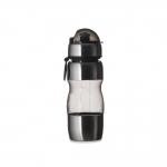 Squeeze Plástico C/ Metal Personalizado - 450 ml Preto
