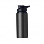 Squeeze Alumínio Fosca Personalizada - 600ML Preto