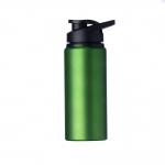 Squeeze Alumínio Fosca Personalizada - 600ML Verde