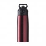Squeeze Inox C/ Bico Personalizado - 700ml Vermelho