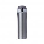 Garrafa Térmica de Metal C/ Trava Personalizada - 450ml Chumbo