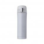 Garrafa Térmica de Metal C/ Trava Personalizada - 450ml Branco