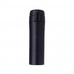 Garrafa Térmica de Metal C/ Trava Personalizada - 450ml Preto