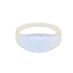 Pulseira Musical LED Personalizada Branco