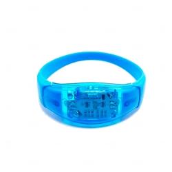 Pulseira Musical LED Personalizada Azul