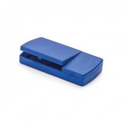 Porta Comprimidos Com Divisor Personalizado Azul