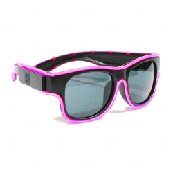Óculos Luminoso Neon Personalizado Rosa
