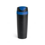 Copo Parede Dupla e Tampa Personalizado - 510 ml Azul