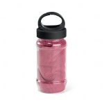 Squeeze com Toalha Personalizada - 440ml Rosa