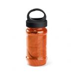Squeeze com Toalha Personalizada - 440ml Laranja