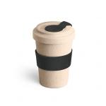 Copo de Fibra Bambu Personalizado - 500 ml Preto