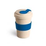 Copo de Fibra Bambu Personalizado - 500 ml Azul