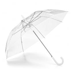 Guarda Chuva Transparente Personalizado Branco