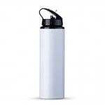 Squeeze Aluminio Com Bico Personalizado - 800ml Branco