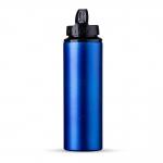 Squeeze Aluminio Com Bico Personalizado - 800ml Azul