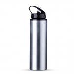 Squeeze Aluminio Com Bico Personalizado - 800ml Prata