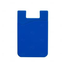 Adesivo Porta Cartão p/ Celular Personalizado Azul