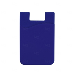 Adesivo Porta Cartão p/ Celular Personalizado Azul Marinho