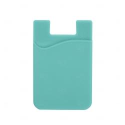 Adesivo Porta Cartão p/ Celular Personalizado Verde água