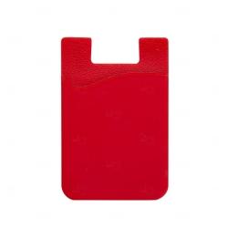 Adesivo Porta Cartão p/ Celular Personalizado Vermelho