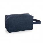 Necessaire Em Nylon Personalizada Azul Marinho