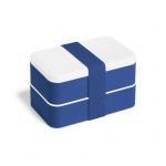 Kit Conjunto Marmita com Talheres Personalizada Azul