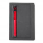 Caderno Com Zíper Personalizado - 21,5 x 14,5 cm Vermelho