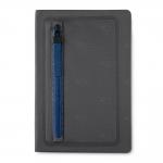 Caderno Com Zíper Personalizado - 21,5 x 14,5 cm Azul