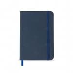 Caderneta tipo Moleskine Personalizado - 17,8 x 12,4 cm Azul Marinho
