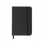 Caderneta tipo Moleskine Personalizado - 17,8 x 12,4 cm Preto