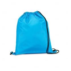 Saco Mochila Personalizada - 35x41 cm Azul Claro