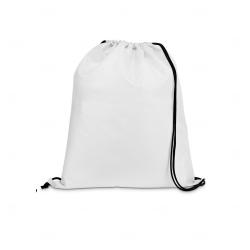 Saco Mochila Personalizada - 35x41 cm Branco