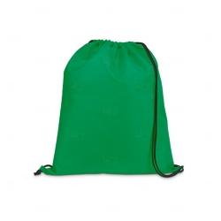 Saco Mochila Personalizada - 35x41 cm Verde
