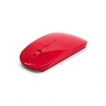 Mouse sem Fio Colorful Personalizado Vermelho